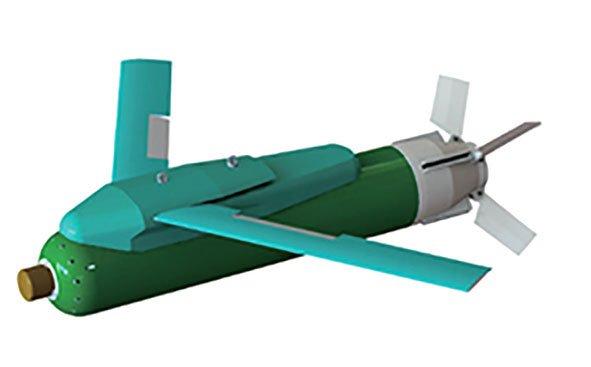 Đồ họa bom than chì đang được Hàn Quốc phát triển. Ảnh: Janes Defense.