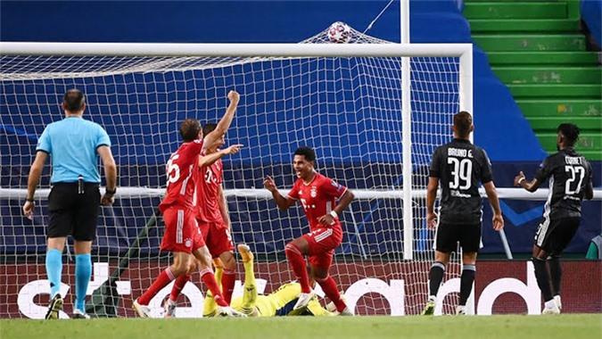 Gnabry đã ghi 9 bàn ở Champions League mùa này
