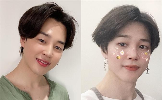Ji Min (BTS) gây tranh cãi vì dùng filter chỉnh ảnh quá... nữ tính - Ảnh 4