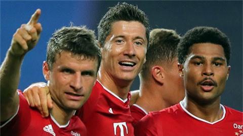 Loạt kỷ lục ấn tượng Bayern thiết lập sau màn hạ sát Lyon
