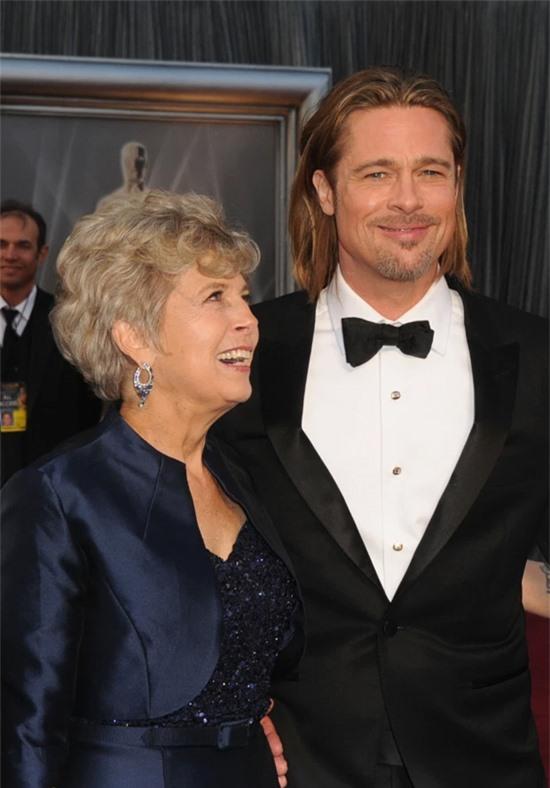 Bà Jane Pitt và người con trai nổi tiếng.