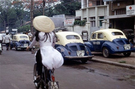 Nữ sinh Nha Trang năm 1968.