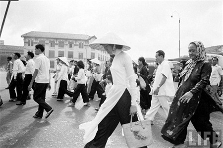 Sài Gòn năm 1961. (Ảnh: Life).
