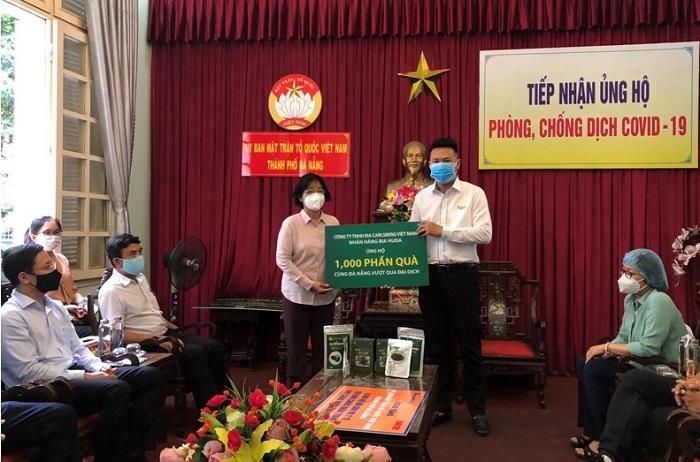 Carlsberg Việt Nam trao tặng 1.000 phần quà cho Uỷ Ban MTTQ Việt Nam TP. Đà Nẵng.