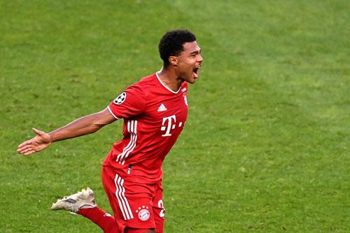 Tiền vệ phải: Serge Gnabry (Bayern Munich).