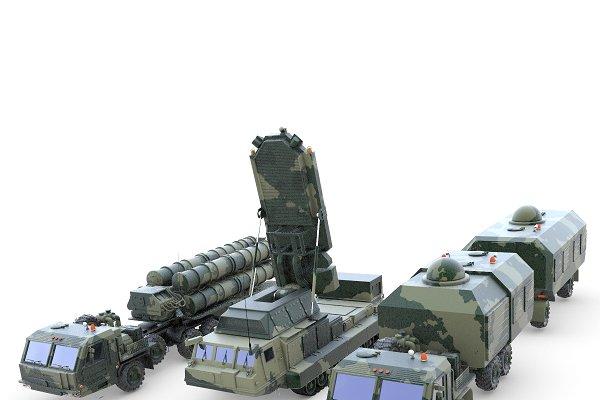 Hệ thống tên lửa phòng không Antey 4000. Ảnh: Avia-pro.