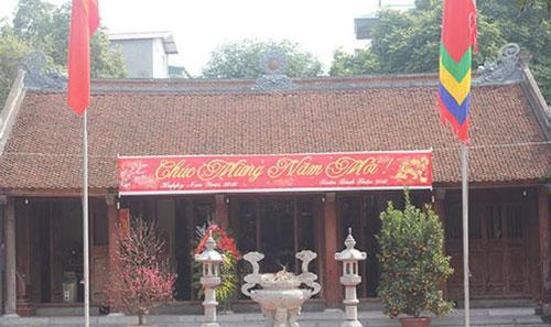 Đền Rồng thờ vua bà Lý Chiêu Hoàng ở Bắc Ninh