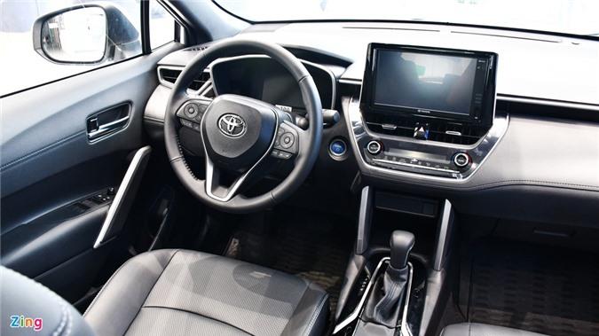 Chi tiet Corolla Cross 1.8HV, SUV duoi 1 ty trang bi dong co hybrid anh 7