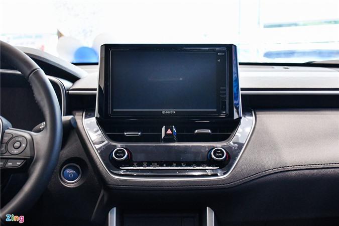 Chi tiet Corolla Cross 1.8HV, SUV duoi 1 ty trang bi dong co hybrid anh 8