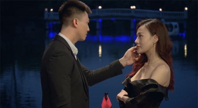 Phương Oanh - Hà Việt Dũng chưa khiến khán giả đã trong Lựa chọn số phận - Ảnh 2.