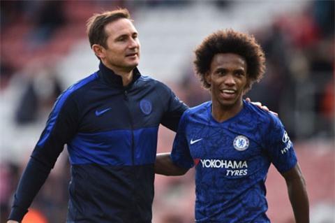 Lampard tin tưởng Willian nhưng BLĐ Chelsea thì không