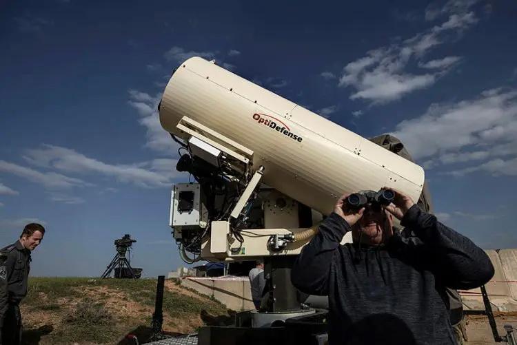 Hệ thống laser chiến đấu Light Blade do công ty OptiDefense của Israel chế tạo. Ảnh: Al Masdar News.