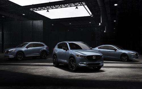 Mazda6, CX-5 và CX-9 phiên bản Carbon Edition.