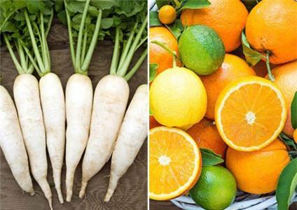 Củ cải trắng biến thành chất