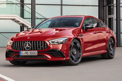 1. Mercedes-AMG GT 43 4MATIC Coupe.
