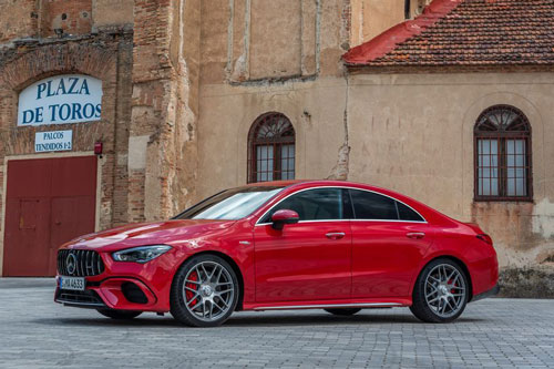 7. Mercedes-AMG CLA 45 S 4MATIC Coupe.
