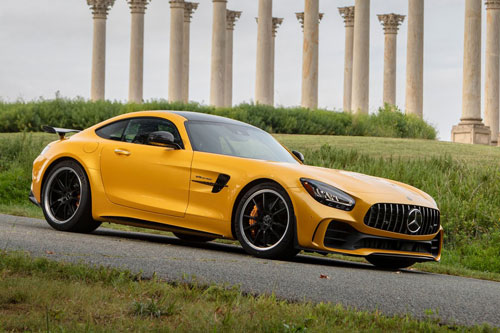 8. Mercedes-AMG GT R Coupe.