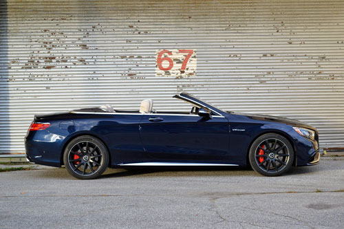 9. Mercedes-AMG S63 4MATIC + Cabriolet.