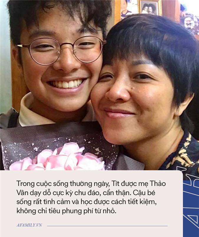 Con trai Thảo Vân đột nhiên xin mẹ tiền ăn phở, nữ MC nổi tiếng tỏ ra nghi ngờ, đến khi biết mục đích của con thì vỡ òa hạnh phúc - Ảnh 5.