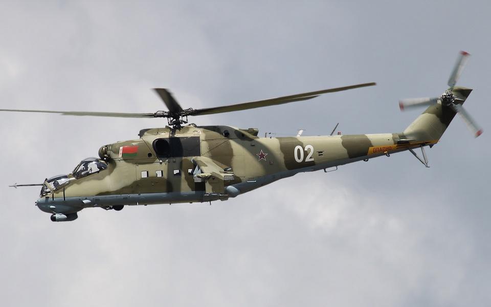 Litva đã cáo buộc về một vụ xâm phạm không phận của trực thăng Mi-24 Belarus. Ảnh: Defence Blog.