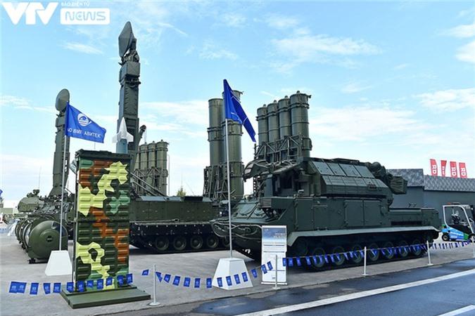 Ngắm dàn vũ khí tối tân bên lề Army Games 2020 ở Nga - Ảnh 1.