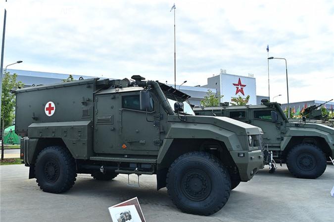 Ngắm dàn vũ khí tối tân bên lề Army Games 2020 ở Nga - Ảnh 12.
