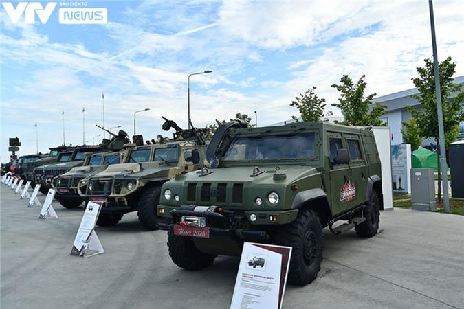Ngắm dàn vũ khí tối tân bên lề Army Games 2020 ở Nga - Ảnh 13.
