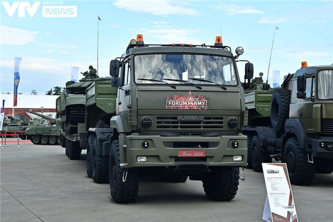 Ngắm dàn vũ khí tối tân bên lề Army Games 2020 ở Nga - Ảnh 16.
