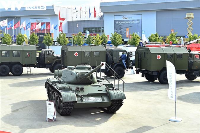 Ngắm dàn vũ khí tối tân bên lề Army Games 2020 ở Nga - Ảnh 23.