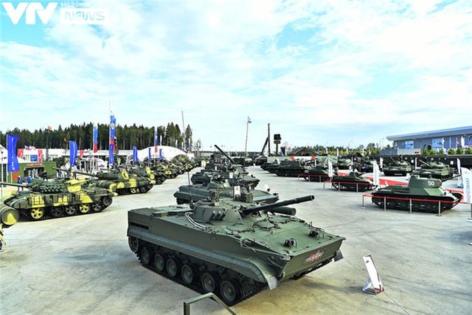 Ngắm dàn vũ khí tối tân bên lề Army Games 2020 ở Nga - Ảnh 30.
