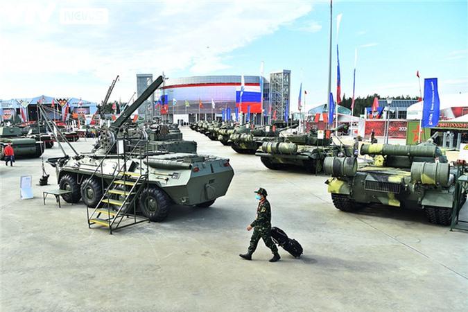Ngắm dàn vũ khí tối tân bên lề Army Games 2020 ở Nga - Ảnh 38.