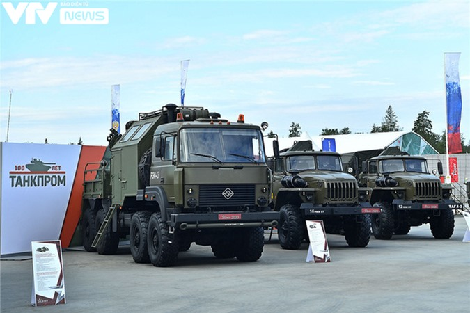 Ngắm dàn vũ khí tối tân bên lề Army Games 2020 ở Nga - Ảnh 39.