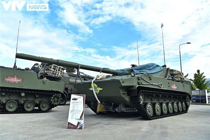 Ngắm dàn vũ khí tối tân bên lề Army Games 2020 ở Nga - Ảnh 4.