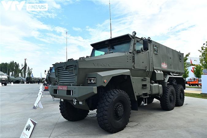 Ngắm dàn vũ khí tối tân bên lề Army Games 2020 ở Nga - Ảnh 5.