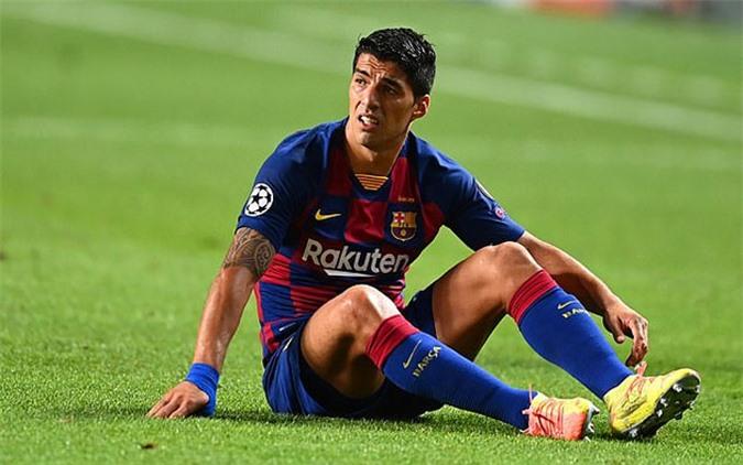 Suarez không còn tương lai ở Barca