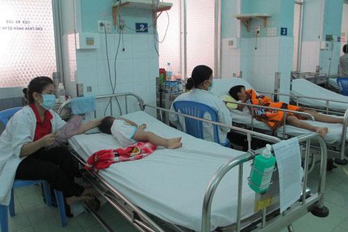 Số ca mắc sốt xuất huyết tại TP.HCM bắt đầu có dấu hiệu gia tăng. (Ảnh: TTXVN)