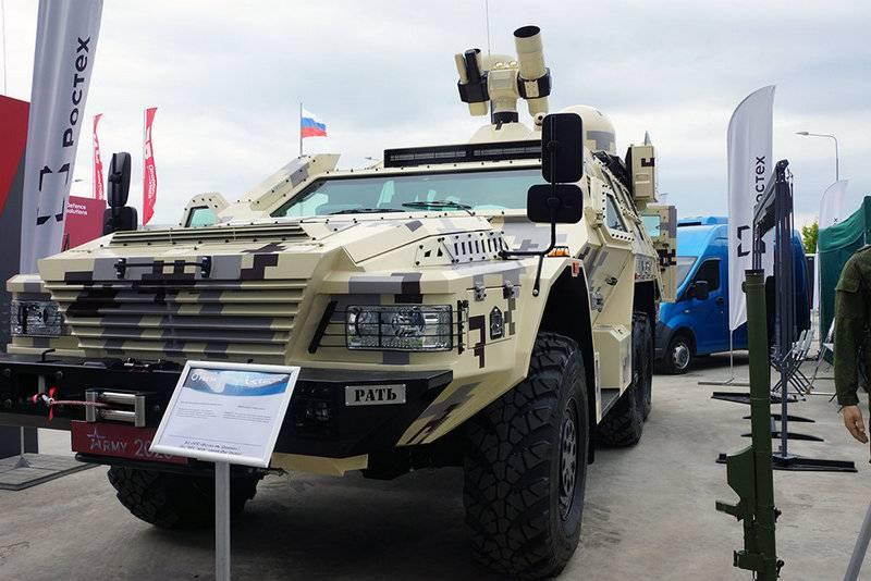 Tổ hợp vũ khí laser chống máy bay không người lái Rat của Nga. Ảnh: Topwar.