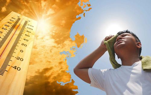 Thời tiết ngày 26/8 rất nguy hại cho sức khỏe con người (Ảnh minh họa).