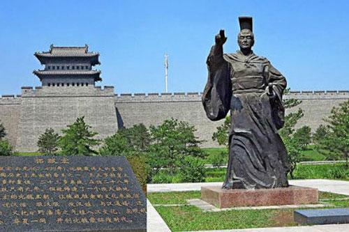 Tượng Ngụy Hiếu Văn đế Thác Bạt Hoành
