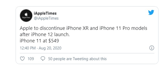 Apple có thể khai tử iPhone 11 Pro - Ảnh 1.