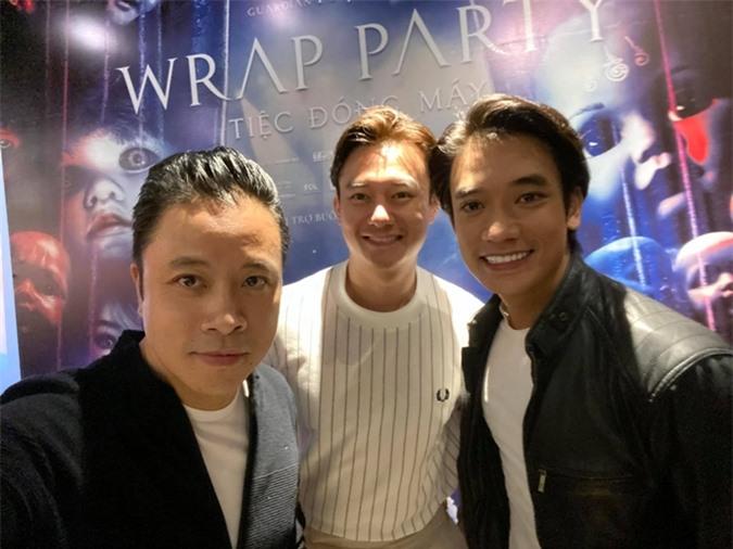 Diễn viên Anh Dũng (giữa) - bạn trai tin đồn của Trương Ngọc Ánh cũng góp mặt trong phim.