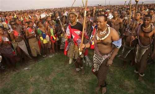 Lễ hội kiểm tra trinh tiết của bộ tộc Zulu - 3