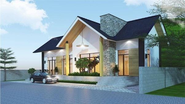 Ngôi nhà có tầm nhìn đẹp