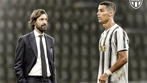 Pirlo và Ronaldo đồng lòng để vực dậy Juve
