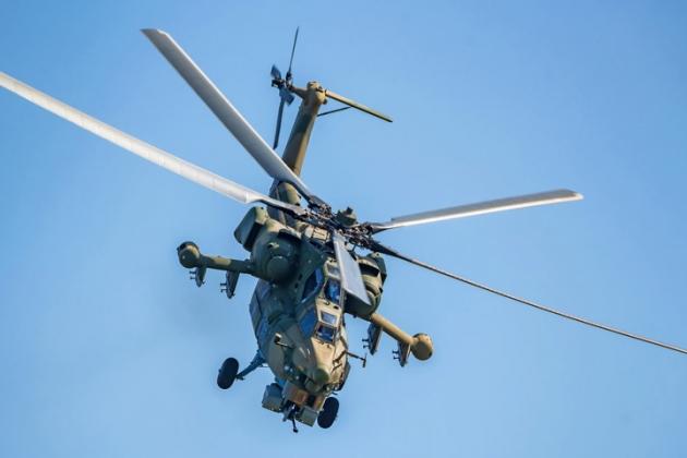 Trực thăng tấn công Mi-28N Night Hunter của Nga. Ảnh: RIA Novosti.