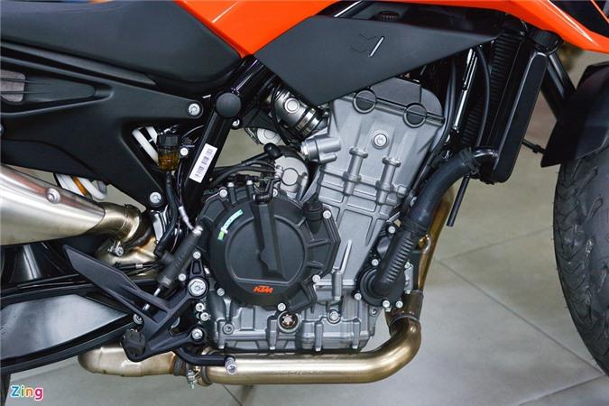 KTM 790 Duke ra mat VN - 103 ma luc, gia duoi 350 trieu anh 14