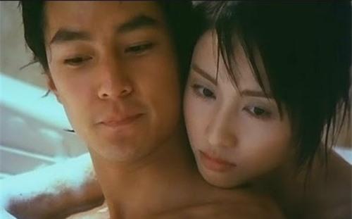 Một cảnh nóng bỏng giữa Lê Tư và Ngô Ngạn Tổ trong Devil Face, Angel Heart năm 2000.