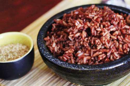 Người mắc bệnh gan thận không ăn gạo lứt.