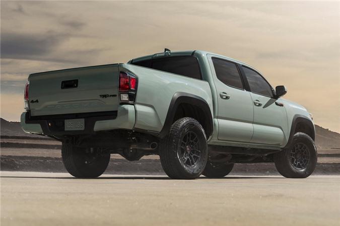 Toyota cong bo gia ban Tacoma 2021 anh 2