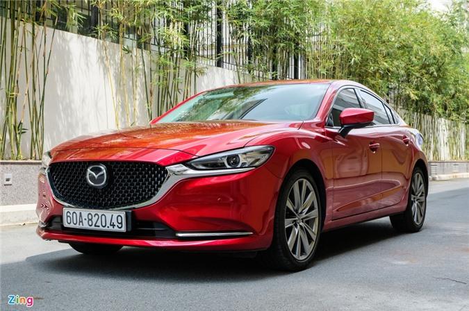 Chi tiet Mazda6 2.0L Premium 2020 anh 20
